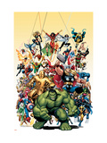 Marvel Collection Issue #1 Covers