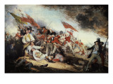 Revolutionary War Battle Scenes