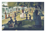 Sunday Afternoon on La Grande Jatte by Seurat