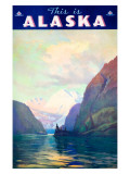 Alaska Travel Ads (Vintage Art)