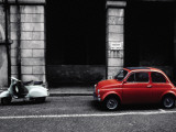 Transportation (Spot Color Photography)