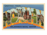 Oklahoma Travel Ads (Vintage Art)