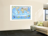 National Geographic Maps Wall Murals
