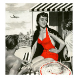 Women's Bathing Suits (Vintage Art)
