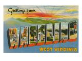 Greetings from West Virginia
