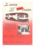 RVs & Trailers (Vintage Art)