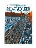 Seasons New Yorker Covers
