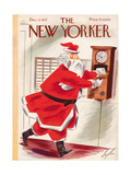 Christmas New Yorker Covers