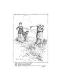 American Golfer Illustrations