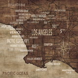 Maps of Los Angeles, CA