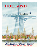 Netherlands Travel Ads (Vintage Art)