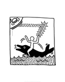 Drawings and Comic Strips (Haring Collection)