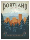 Oregon Travel Ads (Decorative Art)