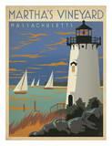 Massachusetts Travel Ads (Decorative Art)