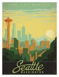 Washington Travel Ads (Decorative Art)