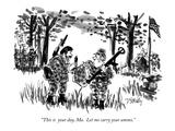 Holiday New Yorker Cartoons