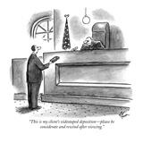 Television New Yorker Cartoons