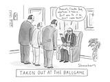 Sports New Yorker Cartoons