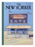 Food New Yorker Covers