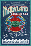 Maryland Travel Ads (Decorative Art)