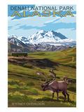 Alaska Travel Ads (Decorative Art)