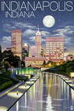 Indiana Travel Ads (Decorative Art)