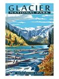 Montana Travel Ads (Decorative Art)