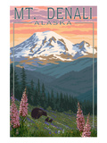Alaska Travel Ads (Decorative Art)