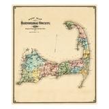 Maps of Cape Cod, MA
