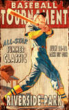 Vintage Baseball (Wood Signs)
