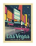 Nevada Travel Ads (Decorative Art)