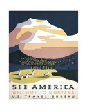 Montana Travel Ads (Vintage Art)