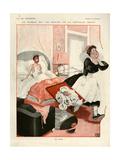 Bedrooms (Vintage Art)