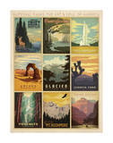 Florida Travel Ads (Decorative Art)