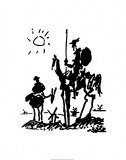 Don Quixote by Picasso