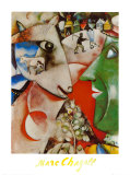 I and the Village by Chagall