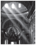 Church Interiors (B&W Photography)