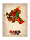Maps of Hamburg