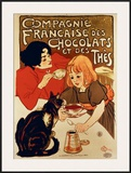 Compagnie Francaise des Chocolats by Steinlen