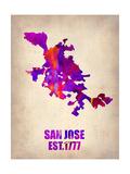 Maps of San Jose, CA