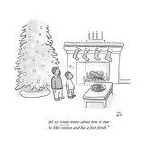 Holiday New Yorker Cartoons