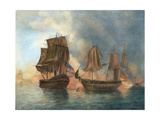 Revolutionary War Battle Scenes