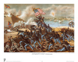Civil War Battle Scenes