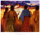 Native American Women & Children
