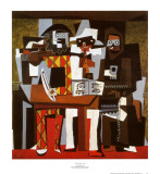 Three Musicians by Picasso