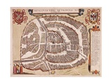 Maps of Moscow