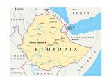 Maps of Ethiopia