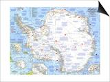 Maps of Antarctica (Natl. Geo.)