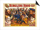 Ringling Bros - Army of 50 Clowns (1960)