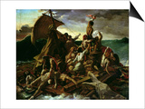 The Raft of the Medusa by Gericault